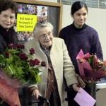 ベティ先生の90歳のお誕生日