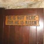 """(120) """"わたし(キリスト)は、よみがえりです。いのちです。わたしを信じる者は、死んでも生きるのです。"""""""
