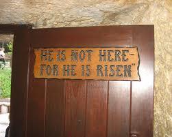 空っぽのキリストの墓