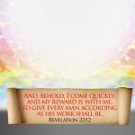 """(131) """"神は、ひとりひとりに、その人の行いに従って報いをお与えになります。"""""""