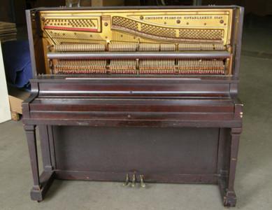 中古のピアノ